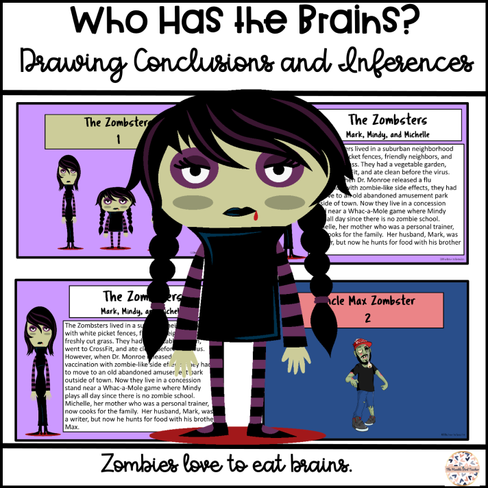 Teach drawing conclusions and inferences